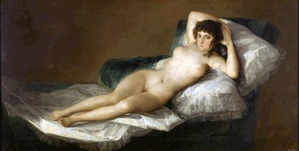 Goya Maja Desnuda