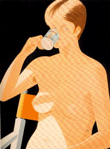 Morning Nude by Alex Katz