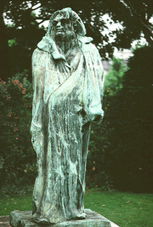 Honoré de Balzac by Auguste Rodin