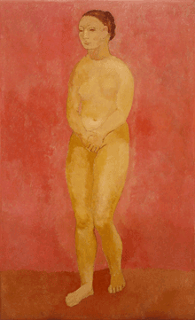 Nude with Joined Hands by Pablo Picasso